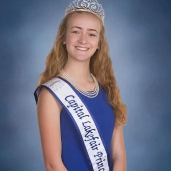Capital Lakefair Princess Ava Brackenbury Oly HS
