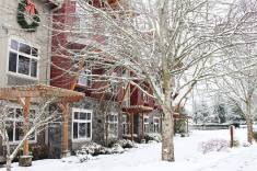 Prairie Hotel winter