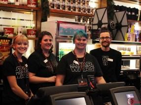 Yelm Cinemas Star Wars Solo Premiere staff