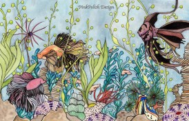 PinkPolish Fish Collage