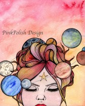 PinkPolish Planets Collage