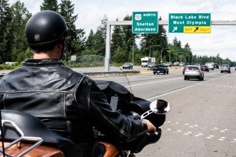 Olympia Motorcycle Ride to Wynoochee Dam Washington
