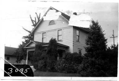The McClelland House at 327 Northwest Sherman, shown here in 1939, was home to Benjamin McClelland who was a teacher. Photo courtesy: Thurston County Assessor, Washington State Archives