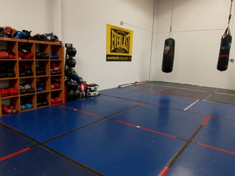 TCPAL Coach Lydell Spry Olympia boxing gym workout - Copy