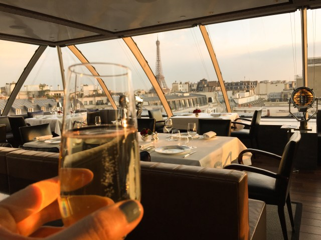 Another champagne toast from the gorgeous Paris Peninsula!