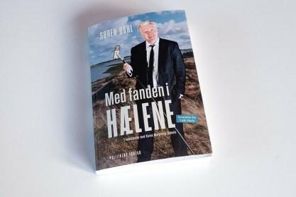 Mit billede fra Nors Sø til Søren Dahls bog Med Fanden i Hælene
