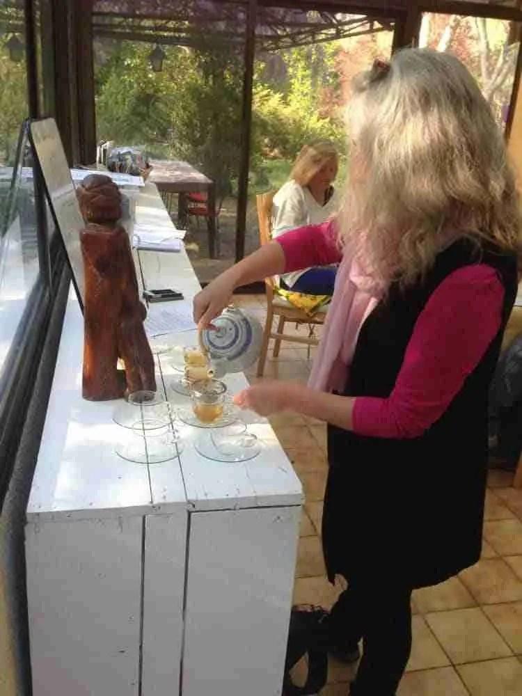 Herbal Workshop Making Infusion