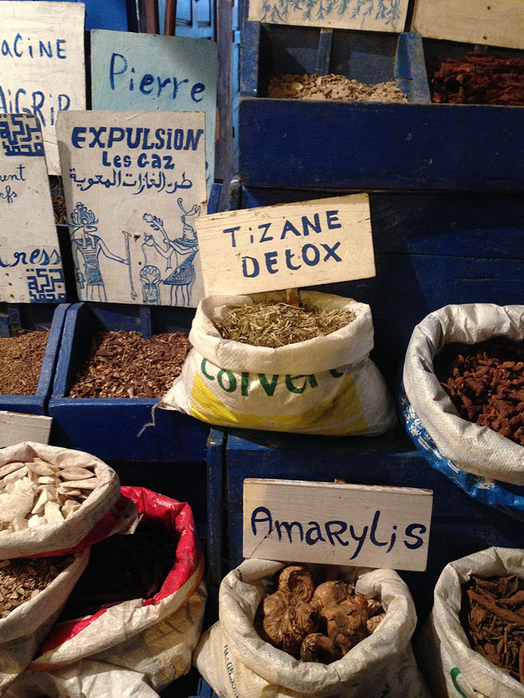 Moroccan Spice Souks and Medicinal Herbs