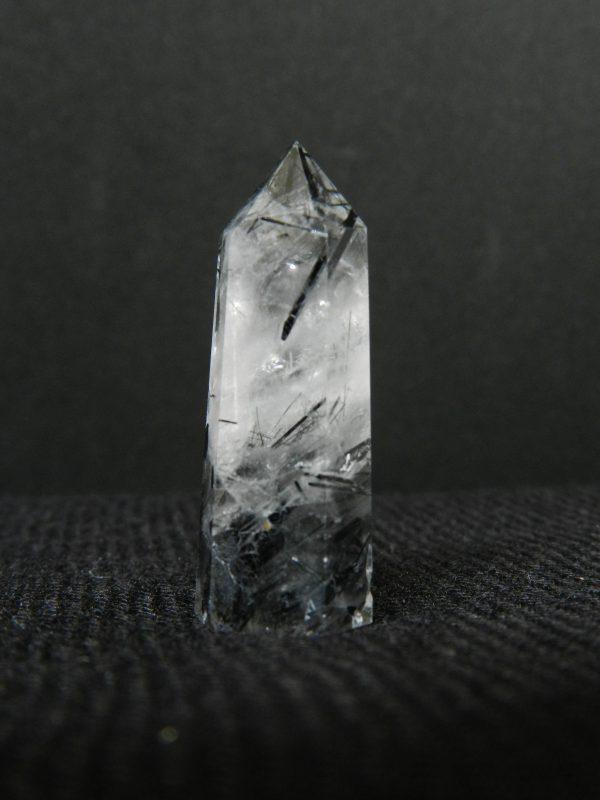 Close up image of Tourmalinated Quartz