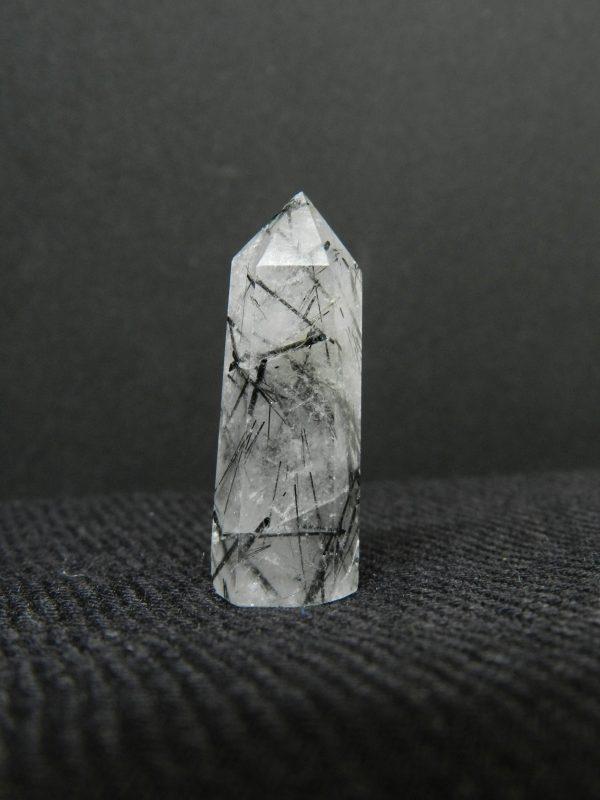 Side image of Tourmalinated Quartz