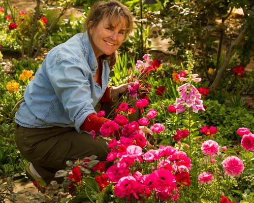 Teena in the Garden