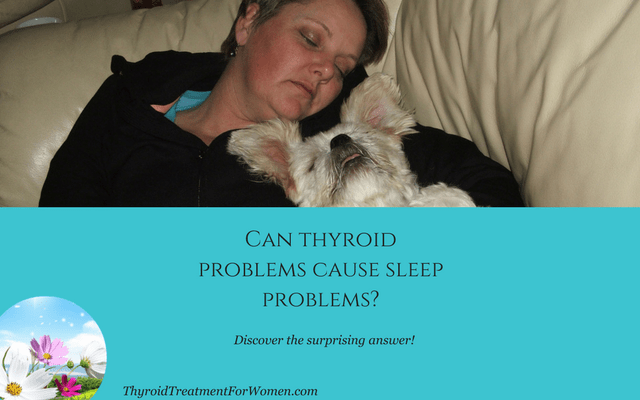 can thyroid problems cause sleep problems