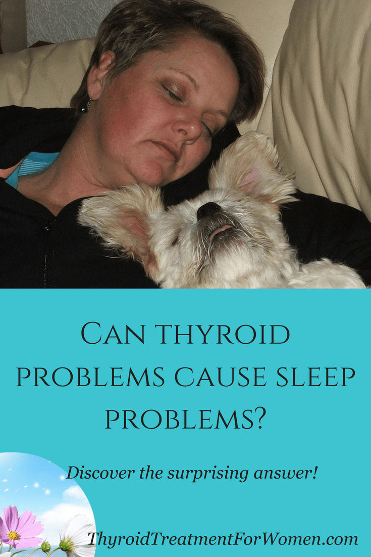 Can thyroid problems cause sleep problems? Turns out the answer is YES. But there are solutions. #hypothyroidism #thyroidhealth #thyroid #sleep @thyroidtreatmentforwomen