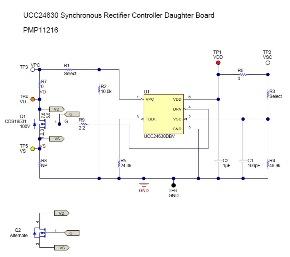 PMP11216 同步整流控制器子板參考設計 | 德州儀器 TI.com.cn