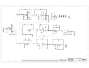 TIPD134 Analog, Active Crossover Circuit for TwoWay