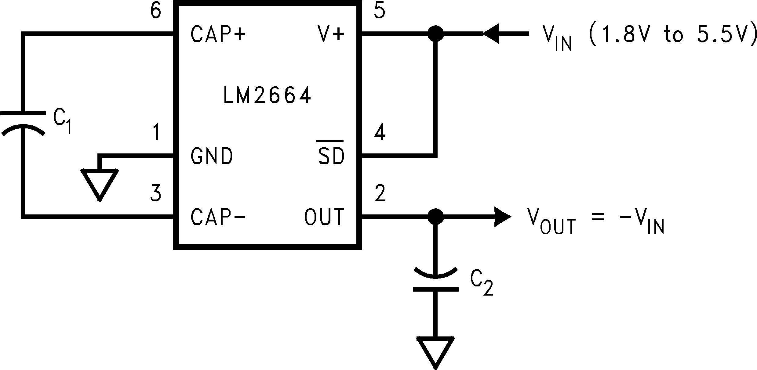 Lm Datasheet Switched Capacitor Voltage Converter