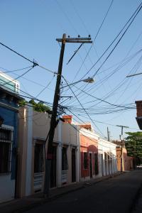 Per le vie di Santo Domingo. Fili.