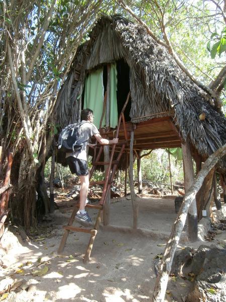 La nostra capannina sull'albero a El Cabito
