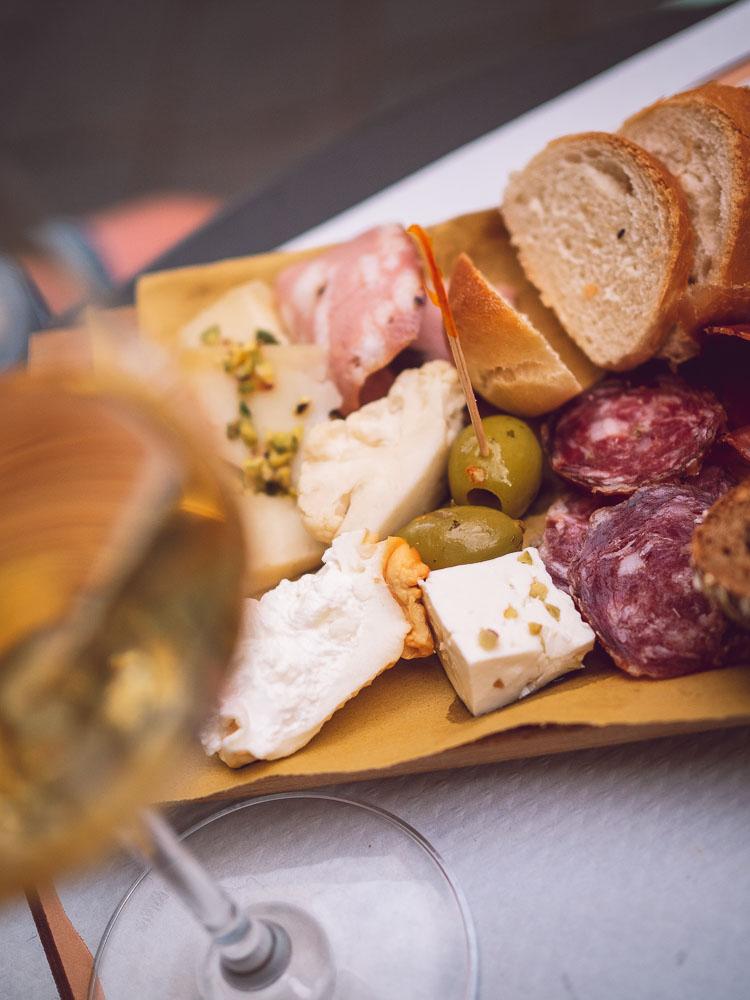 aperitivo affettati e formaggi