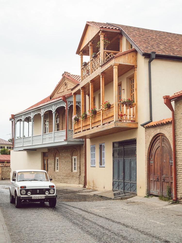Alcune casette carine a Telavi