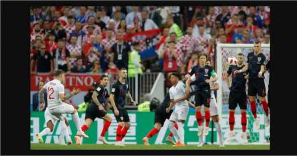 Laporan Pertandingan Sepakbola Timnas Kroasia VS Timnas Inggris