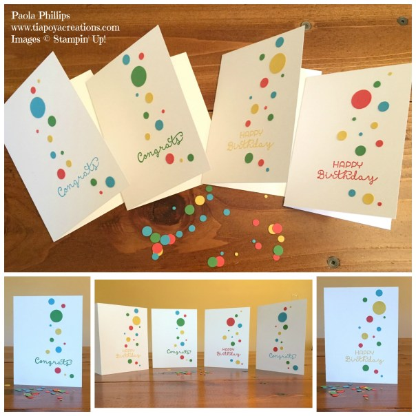 polka dot cards