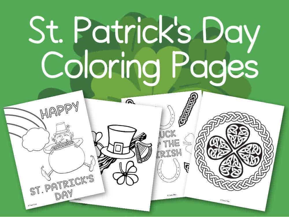 Free St Patricks Day Coloring Pages For You The Kids