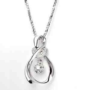 Perhiasan emas berlian white gold 18K diamond DAKADZ001