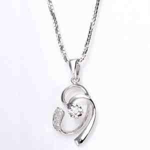 Perhiasan emas berlian white gold 18K diamond DAKADZ005