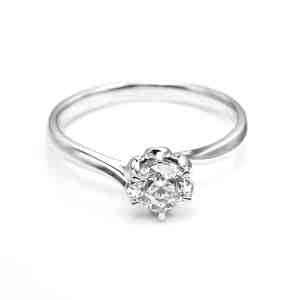 Perhiasan emas berlian white gold 18K diamond DHTXDFJ014