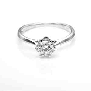 Perhiasan emas berlian white gold 18K diamond DHTXDFJ015