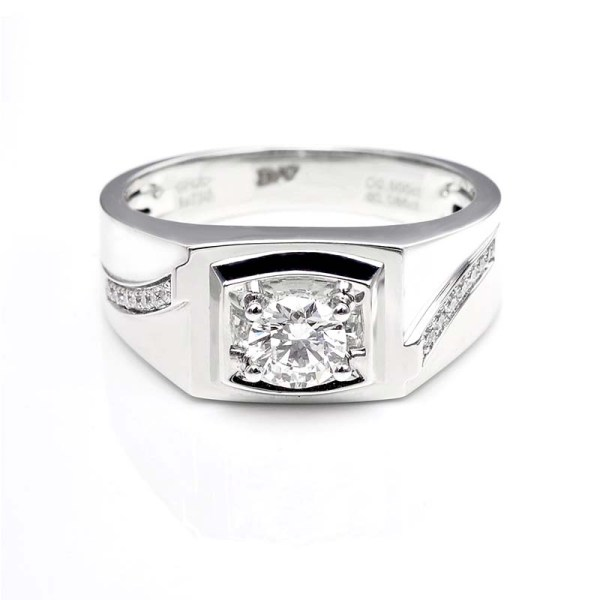 Perhiasan emas berlian white gold 18K diamond DHTXHJZ021