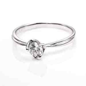 Perhiasan emas berlian white gold 18K diamond DHTXHJZ069