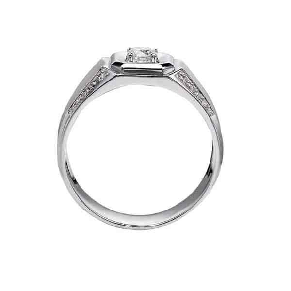 Perhiasan emas berlian white gold 18K diamond DHTXHJZ076