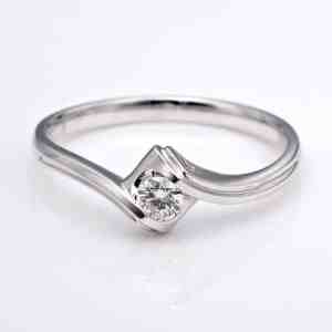 Perhiasan emas berlian white gold 18K diamond DJXJZ020