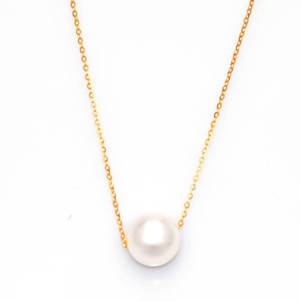 Pearl on Gold Necklace Kalung Emas - Tiaria Jewelry