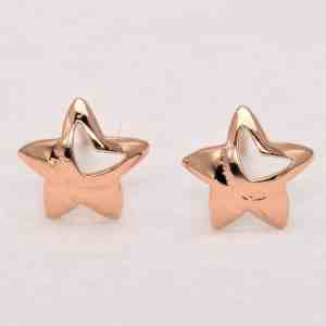 Perhiasan emas gold anting Star D3 Rose Gold Anting Emas 18K