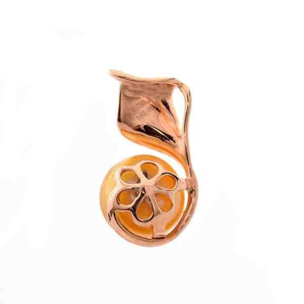 Tiaria Liontin Emas Mutiara Berlian 18K Precious Pearl BP87041 Pendant