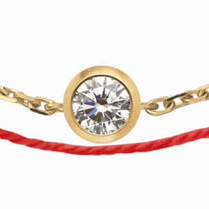 Tiaria 18K Gold Pure Duet Bracelet Red Baby