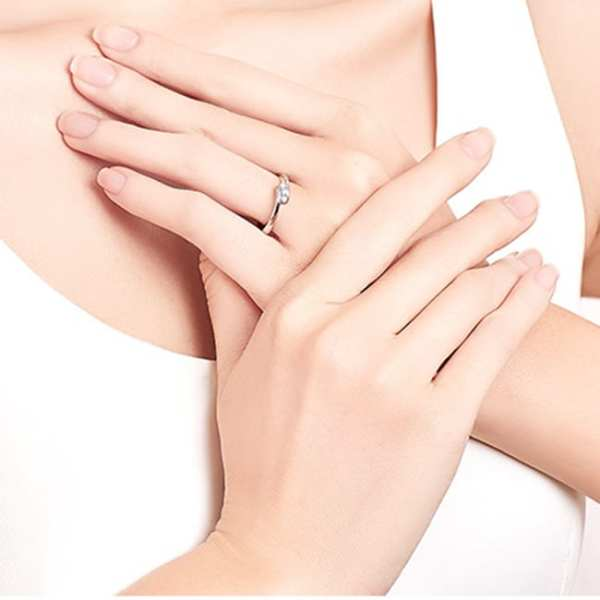 Tiaria 9K Connected Love Ring 4