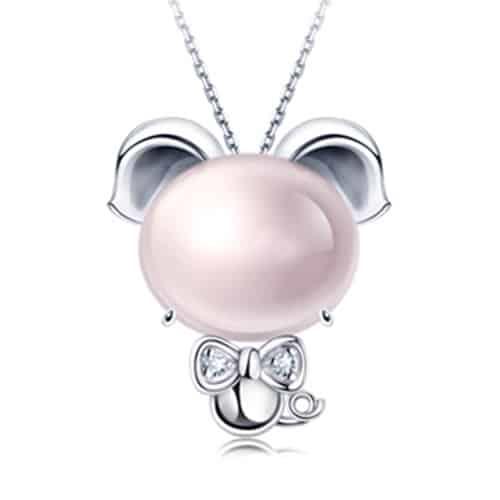 Pink Crystal Pig (1)