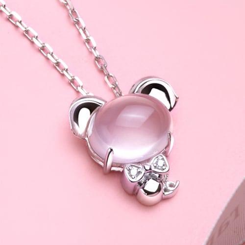 Pink Crystal Pig (2)