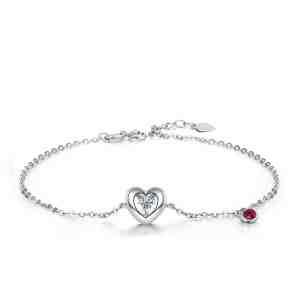 Diamond Heart Ruby
