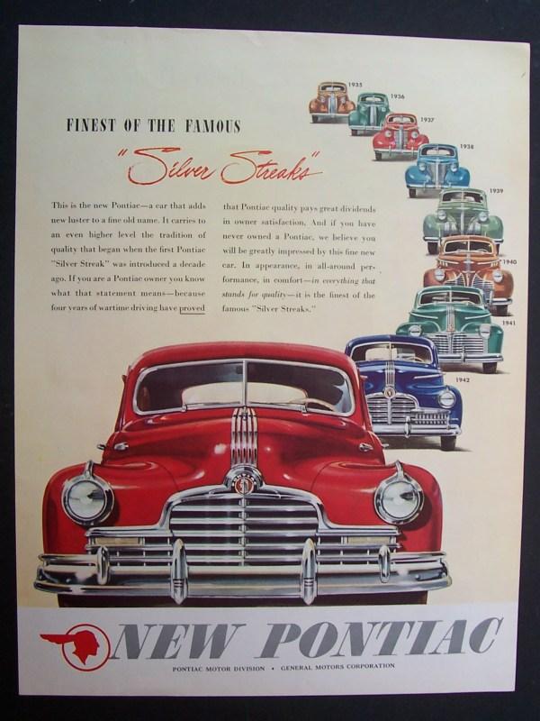1945  Pontiac  Silver  Streaks