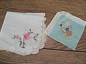 Handkerchiefs Womans Vintage Clothing Womans Antique Clothing