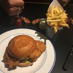 Chicken Burger & Fries - Foxlow Soho Review