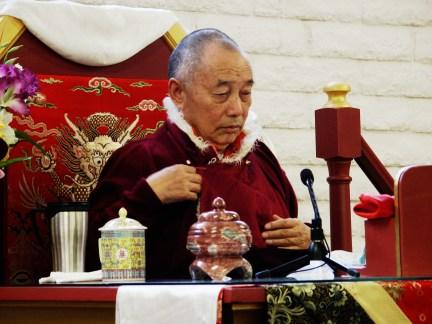 Prayers for Venerable Gyaltrul Rinpoche   Tibetan Buddhist Altar