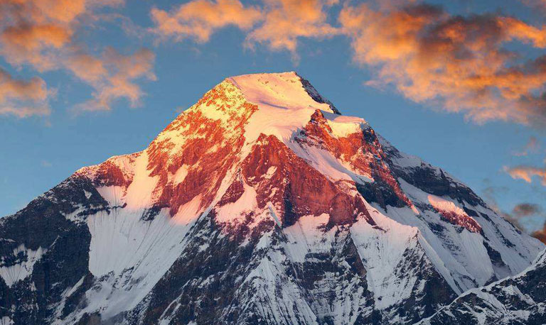 Red Snow of Mount Everest