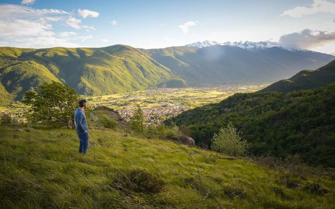 Jacopo Suppo per la cura di Condove, piccola cittadina della Val di Susa