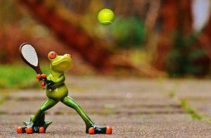 tenis-frog